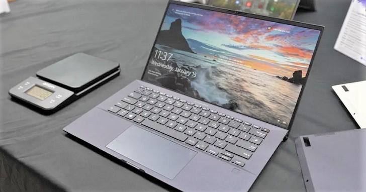 870 克重的商務筆電!ASUS ExpertBook B9 帶來 24 小時續航力