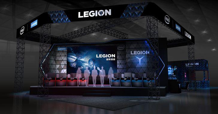 Lenovo首次參與台北國際電玩展,以「星際漫遊」為主題設立產品體驗區