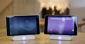 Ntablet土砲平板不但支援Android,還有Debian作業系統使用彈性高