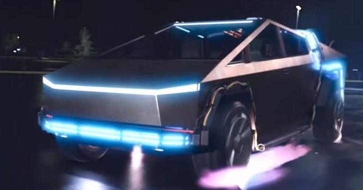 馬蒂不開 DeLorean 了!布朗博士的汽車時光機變成特斯拉 Cybertruck