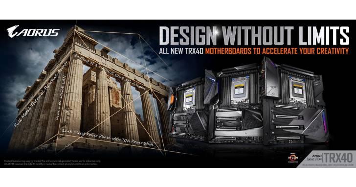 技嘉TRX40系列主機板完美支援 AMD Ryzen Threadripper 3990X 處理器