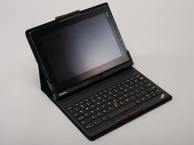 ThinkPad Tablet 實測:觸控筆加鍵盤,可變小筆電的平板