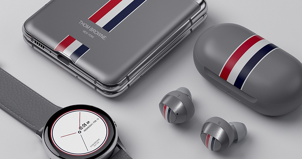 打造經典時尚,三星與 Thom Browne 合作推出 Galaxy Z Flip 限量聯名款