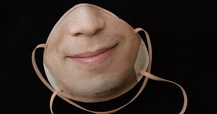 想要讓你的 Face ID 認出戴上口罩的你,把你的鼻子跟嘴巴印在口罩上有用嗎?