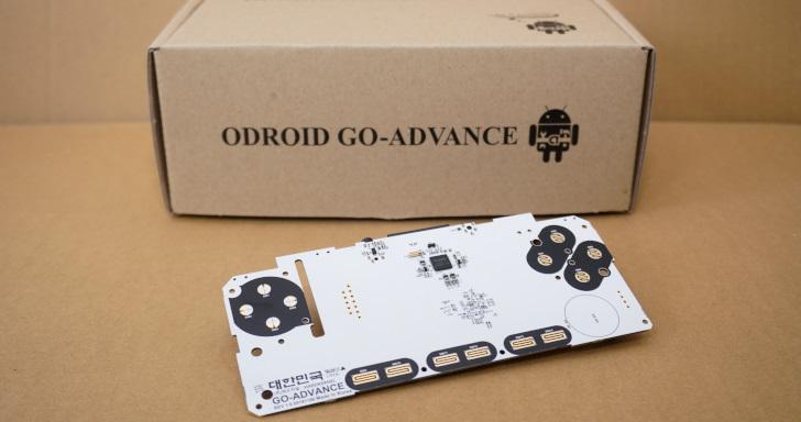 《掃雷組》:Odroid Go Advance土砲掌上型主機組裝篇