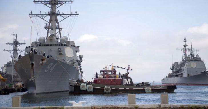 美國太平洋艦隊下令:所有停靠過太平洋海域港口的軍艦,一律海上自主隔離14天
