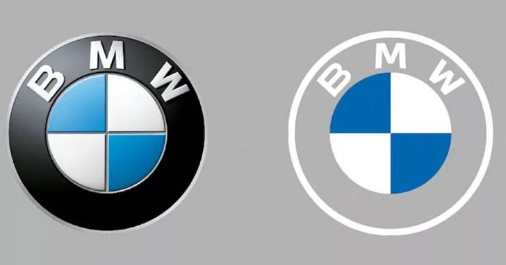 BMW 新 Logo 被批評簡直是場悲劇,簡約過頭到看不清楚