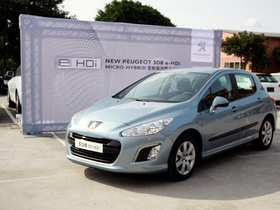 NEW PEUGEOT 308 e-HDi  MICRO-HYBRID全新柴油動力科技
