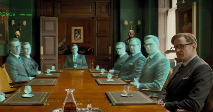 實體會議消失後,辦一場如金牌特務中的VR會議可能嗎?