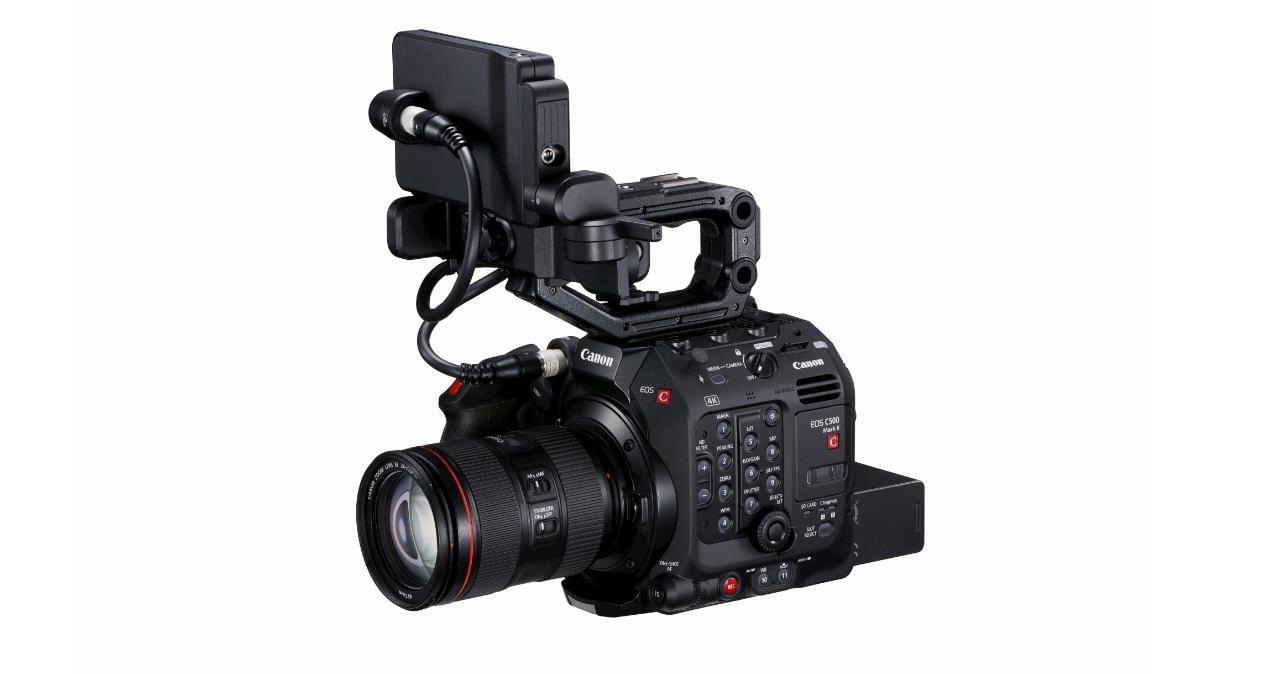 Canon 推出 EOS C500 Mark II 專業級5.9K全片幅攝影機,要價57.6萬元