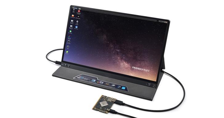 Friendly ELEC SOM-RK3399V2單板電腦內建USB Type-C端子,免母板也能運作