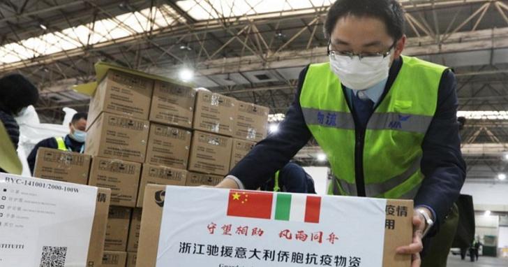 中國正在展開口罩外交,要讓世界忘記「武漢肺炎 中國製造」