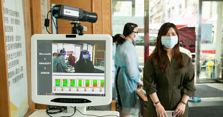 耕莘醫院導入微軟 AI 口罩溫度檢測器,減輕醫療人員壓力把關防疫