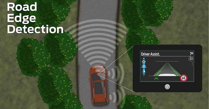 沒道路標線也能啟動車道偏移輔助,Ford 路緣偵測系統國內有望搭載