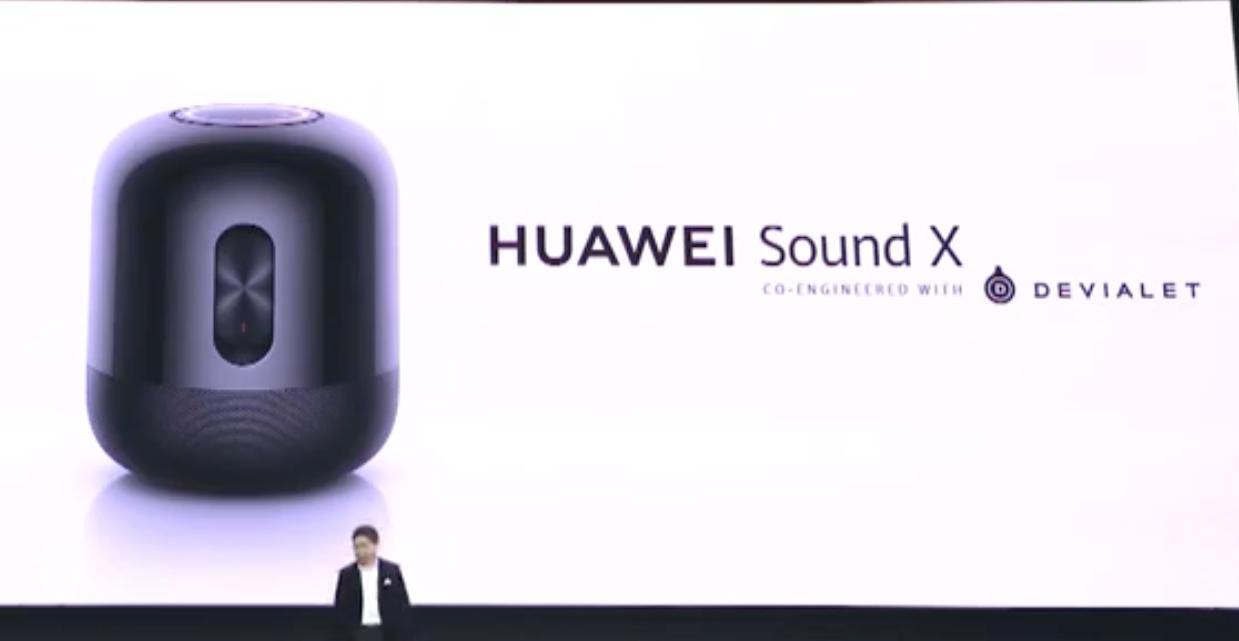 這是華為版的 HomePod,找來 Devialet 加持推出 Sound X 智慧音箱