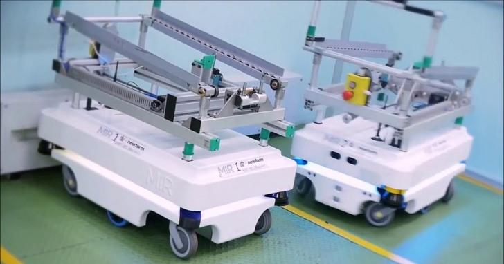 去吧,機器人:MiR 的人工智慧團隊幫助工廠機器人找到前進的道路