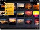 用電視牆來瀏覽網站圖片