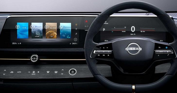汽車中控台的螢幕該直擺還是橫擺?Nissan 給出了解答