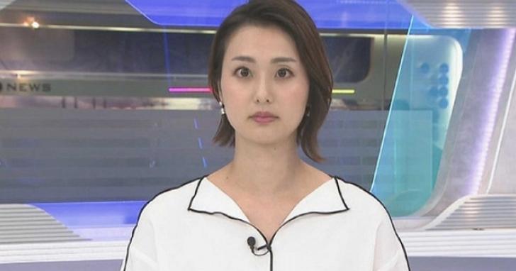 日本新聞女主播的上衣引發網友討論,真的不是PS上去的嗎?