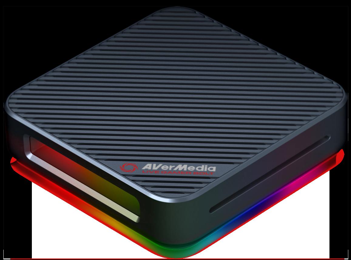 圓剛推紅點設計新品 LGB實況擷取盒搭載Intel Thunderbolt 3介面重裝上市
