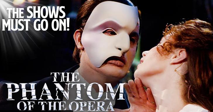 防疫在家回味經典音樂劇!「歌劇魅影」完整版將在 YouTube 免費 48 小時限時播映