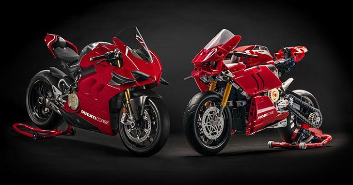 原價 200 萬的 Ducati Panigale V4 R 現在只要 2000 塊,只不過是樂高積木版!