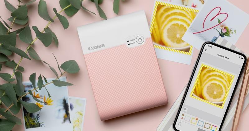 Canon 推出 SELPHY SQUARE QX10 掌上型手機印相機,可隨身攜帶、隨時洗出照片