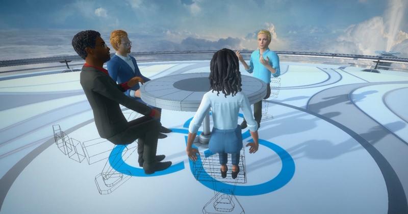 實現電影場景!HTC VIVE SYNC 的 VR 虛擬會議平台 Beta 版開放給企業免費使用