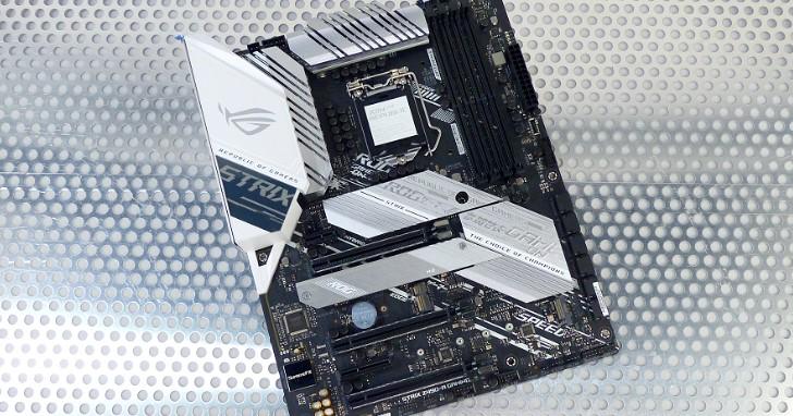 實用級電競主機板,Asus ROG Strix Z490-A Gaming 轉換設計風格