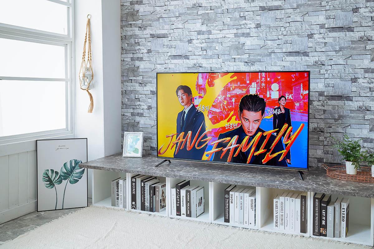 BenQ E55-720 4K 智慧電視,追劇推薦機種,Google 正版授權影音、護眼不閃屏,2020 新機開箱評測