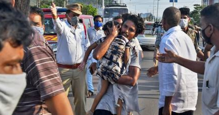 LG印度化工廠氣體外洩重大公安意外!至少10人死亡、400多人住院、5000人以上緊急疏散