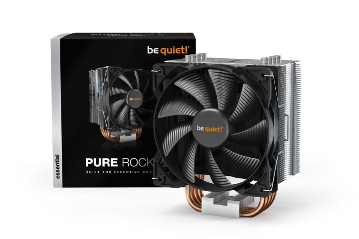 be quiet! Pure Rock 2 空冷散熱器 – 優異安裝相容性 安裝更便利