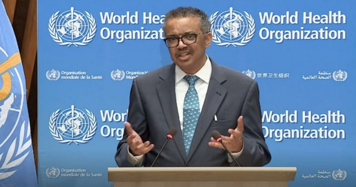 譚德塞表示,將啟動針對新冠病毒疫情的起源以及WHO的應對進行獨立「評估」