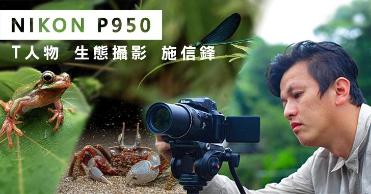 攝影讓生態圈有不一樣的可能,專訪生態攝影師施信鋒與 Nikon P950 的生態攝影之路