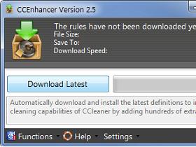 CCEnhancer 2.5 讓 CCleaner 支援500款程式,清理垃圾更全面