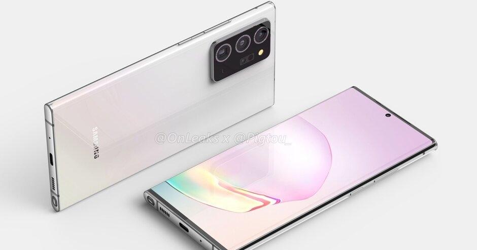 傳三星 Galaxy Note 20 可能長這樣,超顯眼主鏡頭模組、更大的螢幕