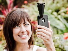 GoPano micro環景鏡頭、微距鏡頭手環,手機變特殊相機