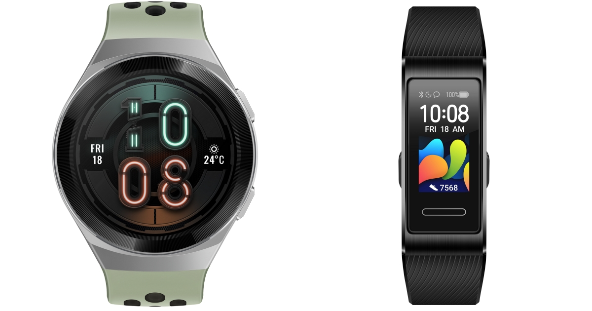 華為兩款手錶登台:HUAWEI WATCH GT 2e、HUAWEI Band 4 Pro 平價開賣