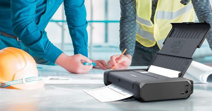 Canon 推出 PIXMA TR150 可攜式噴墨印表機及無線簡報器,在家上班依然能保持最佳工作戰力