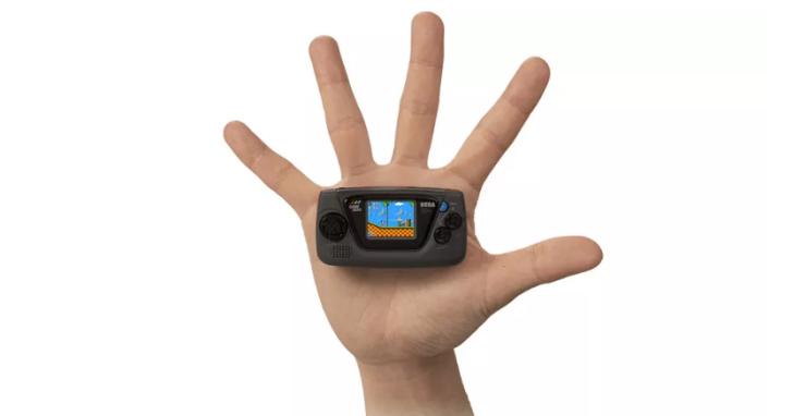 SEGA 超迷你復刻版掌機「Game Gear Micro」不用台幣1500!在1吋螢幕上重溫音速小子、魔法氣泡