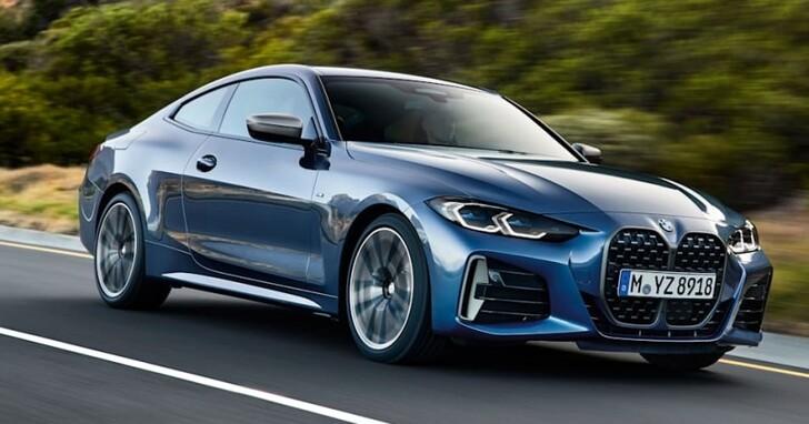 BMW 4 系列終於登場,巨大腎型水箱罩你覺得好看不好看?