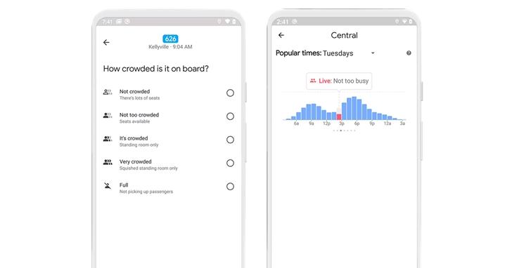 Google 地圖將釋出「大眾運輸」新功能:除了擁擠度,更規劃整合溫度、無障礙設施與女性車廂資訊