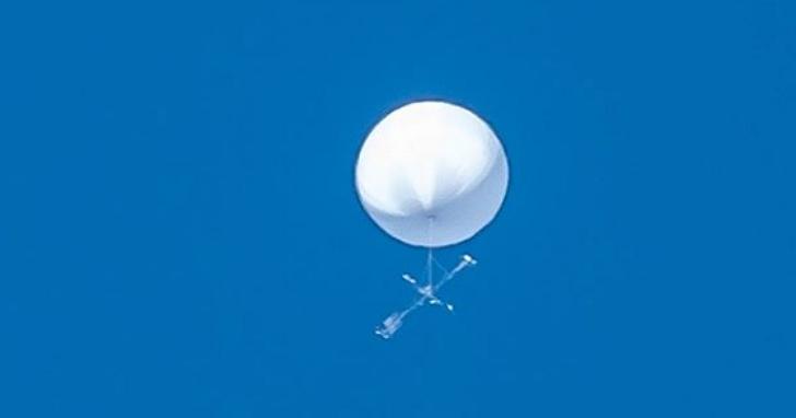 仙台市上方出現不明白色球體,連氣象台都感到困惑「真不知道這是什麼東西」