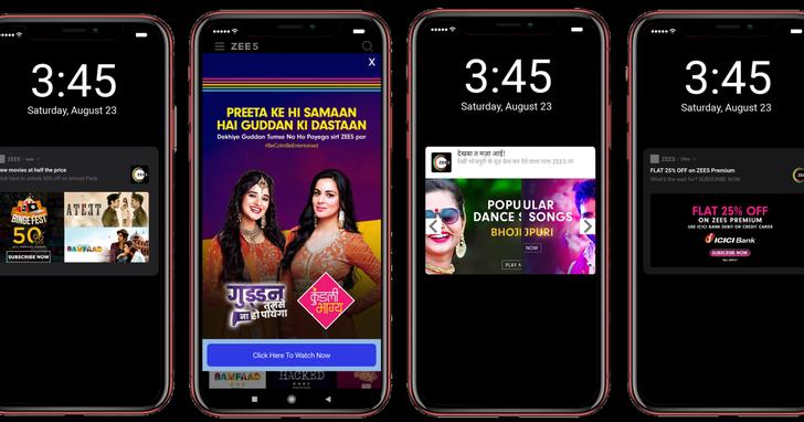 Appier超個人化服務助印度串流服務商ZEE5提升影片點擊率