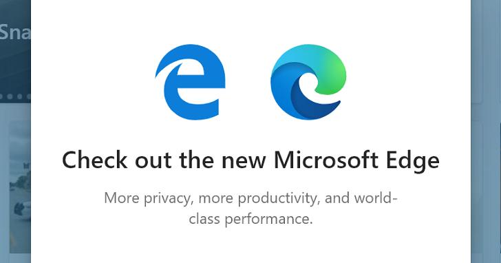 微軟強迫推銷新版 Edge 引來反彈,使用者批評簡直跟流氓軟體沒兩樣