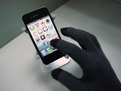 天氣冷又想玩手機?買個觸控手套吧!實玩 iPhone 給你看