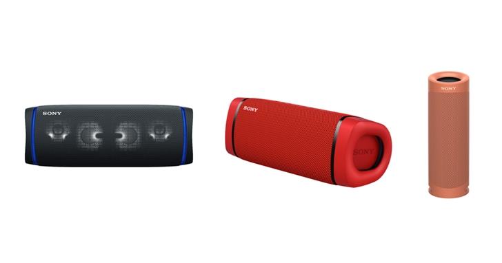 Sony 三款 EXTRA BASS 無線藍牙喇叭齊發!搭載 IP67 防塵防水、重低音再升級,售價 3,490 元起