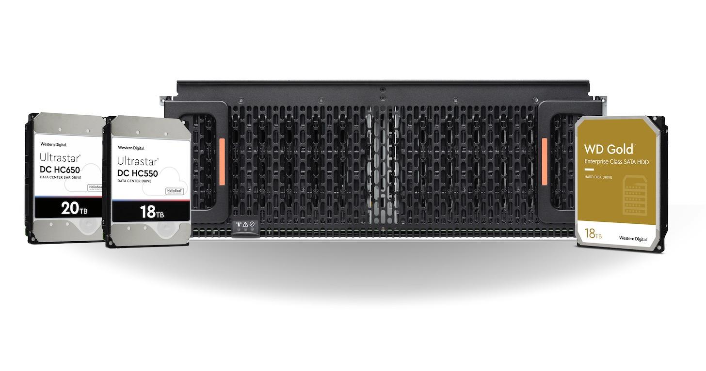 Western Digital推出16TB與18TB企業級容量硬碟,專為企業級伺服器與儲存系統打造