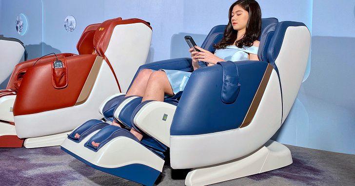 FUJI推出 FG-7350 摩術椅,配置 34 個按摩氣囊、128 公分加長型導軌、量身打造個人舒壓模式
