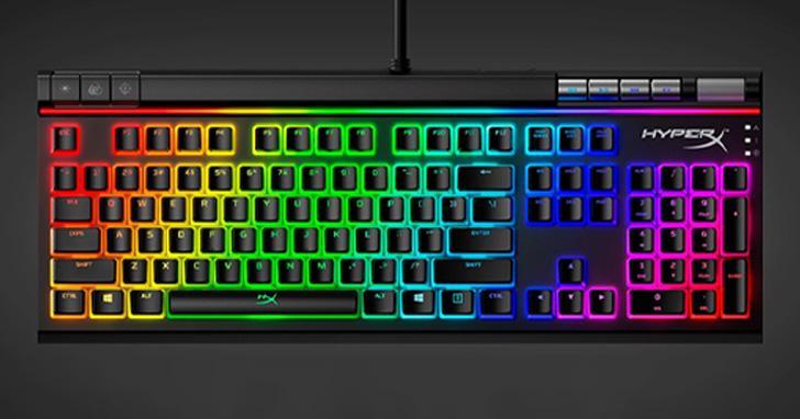 滿足遊戲、日常娛樂需求,HyperX Alloy Elite 2機械式電競鍵盤正式開賣